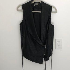 H&M Divided Faux Leather Vest